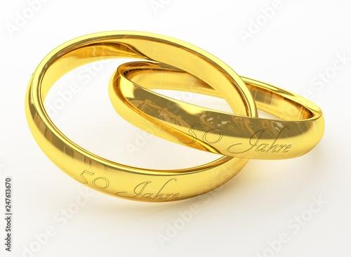 50 Jahre Goldene Hochzeit Eheringe Buy This Stock