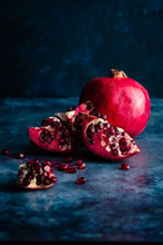 Fresh Pomegranate Sections