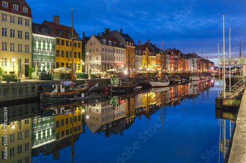 Photo  Nyhavn in Copenhagen, Denmark.