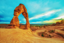 Delicate Arch In Arches National Park Utah, USA