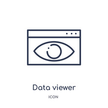 Data Viewer Icon From User Int...