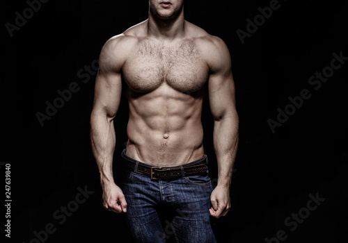 Sexy Man Naked Body Nude Male Strong Mans Bodybuilder Muscular Men Sexy Body Nude Man Naked Male Muscled Athletic Caucasian Ab Six Pack Chest Muscles Triceps Beautiful Male Torso Buy This