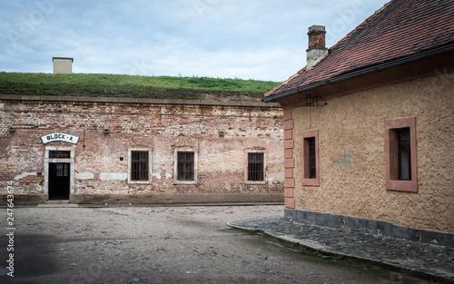 Canvastavla KZ Theresienstadt / Terezin