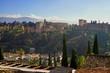 Granada und die Alhambra in Andalusien, Spanien