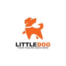 Dog Logo Design Vector Template