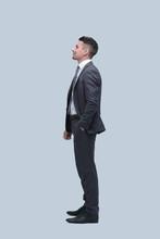 Full-length Portrait Of The Modern Businessman.