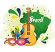 rio carnival brazilian card