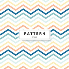 Chevron Pattern Pastels Color ...