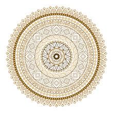 Vector Ethnic Colorful Mandala...
