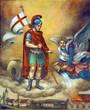 canvas print picture - Saint Florian