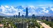 Leinwandbild Motiv Santiago Chile cityscape