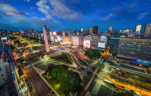 Buenos-Aires City Night High D...