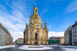 canvas print picture - Dresden im Winter