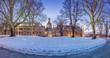 Frauenkirche im Winter