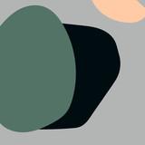 Abstrakcyjne tło. Kolorowe tło geometryczne. Sztuka dekoracyjna do druku geometrycznego, Reprodukcje abstrakcyjne, Nowoczesna sztuka ścienna, Prezent do ocieplenia domu. Minimalizm, modny wektor wyciągnąć rękę - 247757881