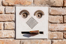 Funny Mail Post Box With Lette...
