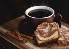Sliced Cinnamon Swirl Sweet Br...