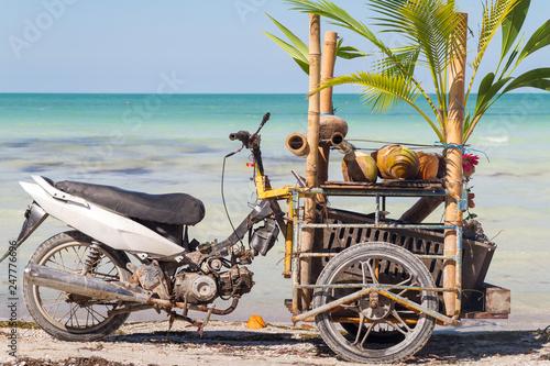 Türaufkleber Fahrrad Holbox