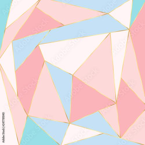 streszczenie-tlo-wielokata-trojkat-wektor-pastelowa-wektorowa-ilustracja