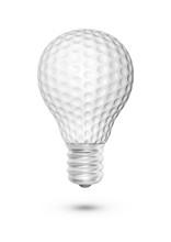 Golf Ball Light Bulb / 3D Illu...