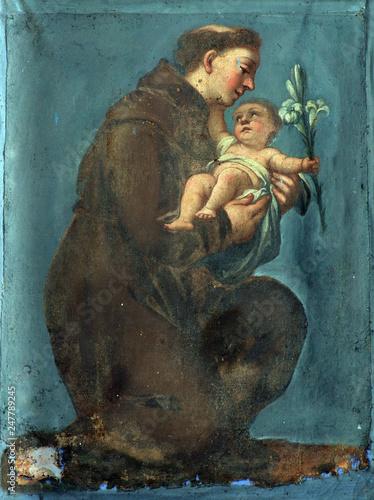 Saint Anthony of Padua Canvas Print