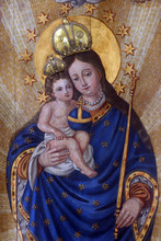 Blessed Virgin Mary With Baby ...