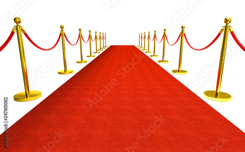 Photographie red carpet background
