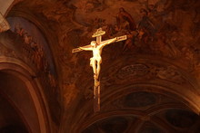 Jesus Christ In Cathedral Of A...