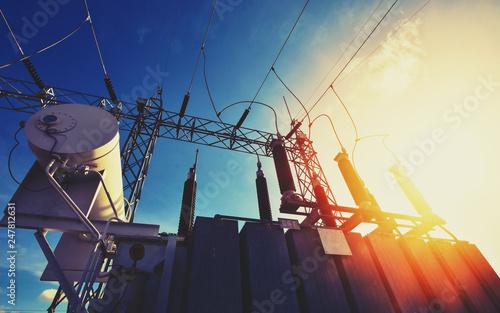 Main Power Plant Energy ideas And energy saving Canvas-taulu