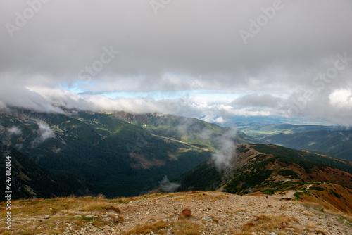 Foto op Plexiglas Panoramafoto s panoramic view of Tatra mountains in slovakia