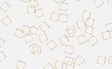Geometryczne złote tło z kwadratów. Złoty, brokat, nowoczesny - 247813025