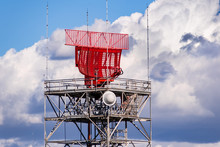Air Traffic Control Radar In South San Francisco Bay, Sunnyvale, California