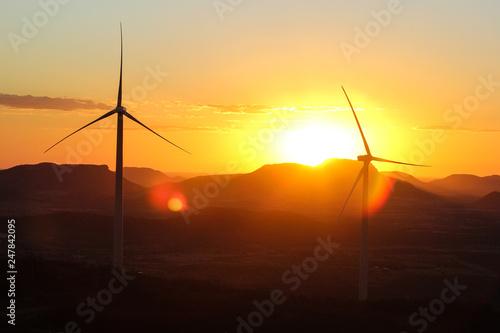 Fotografie, Obraz  energia eólica