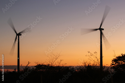 energia eólica Canvas-taulu