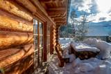 Fototapeta Na ścianę - Piękny widok z przydomowego drewnianego  tarasu na Tatry