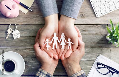 Fotografía  Family Care And Love - Values
