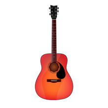Bright Acoustic Guitar With Bl...