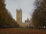Fototapeta Londyn - Jesień w Londynie