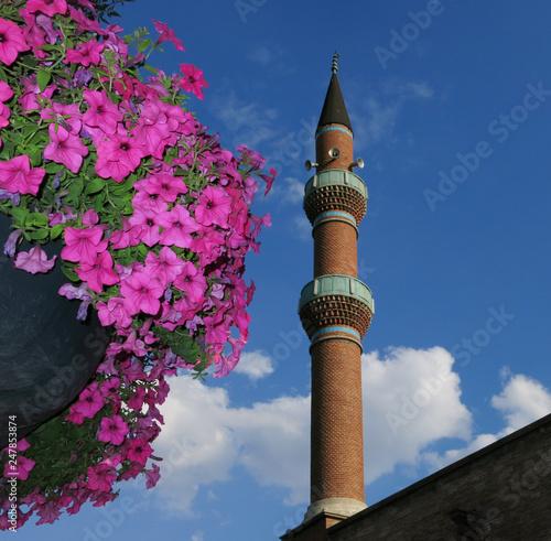 Fotografia  minaret of mosque