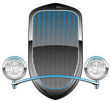 1930s Style Hot Rod Car Grill ...