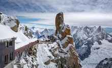 The Pipe, Aiguille Du Midi, Mo...