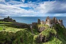 Dunluce Castle On The Atlantic...