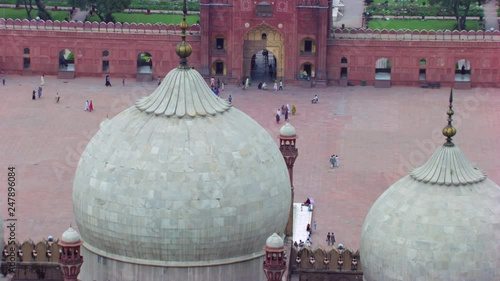 Stock Video of Lahore, Pakistan,Minarets of the world famous