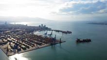 Port Of Izmir In Turkey.