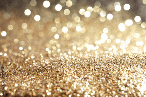 Photographie Metal gold dust sand glitter abstract