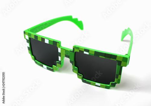 Fotografia, Obraz Glasses minecraft