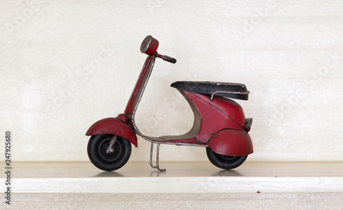 Scooter Retro scooter isolated