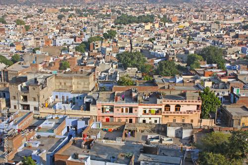 View of Jaipur, India Wallpaper Mural