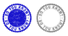 Grunge DO YOU KNOW? Stamp Seal...