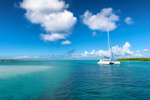 Catamaran Mooring Near Petite ...